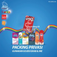 JOKER LOCK RING X3 kondom durex pelumas lubricant magic vivo fiesta