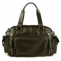 Travel bag, tas laptop bahan kulit asli, murah n bisa custom