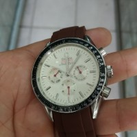jam tangan otomaatis chronograph stainles steel