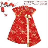Dress Imlek Anak Baby-12 Th Di03 Xincia Sincia Cheongsam Baju Imlek