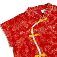 Dress Imlek Anak 1-12 Th Di14 Xincia Sincia Cheongsam Baju Imlek