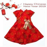 Dress Imlek Anak 1-12 Th Di04 Xincia Sincia Cheongsam Baju Imlek