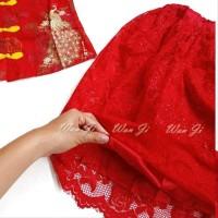 Dress Imlek Anak 1-12 Th Di12 Xincia Sincia Cheongsam Baju Imlek