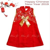 Dress Imlek Anak Baby-8Th Di08 Xincia Sincia Cheongsam Baju Imlek