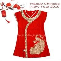 Dress Imlek Anak 1-12 Th Di13 Xincia Sincia Cheongsam Baju Imlek