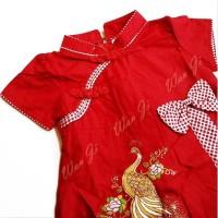 Dress Imlek Anak Baby-12 Th Di09 Xincia Sincia Cheongsam Baju Imlek