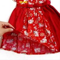 Dress Imlek Anak 1-12 Th Di05 Xincia Sincia Cheongsam Baju Imlek