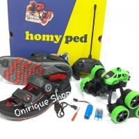 sandal gunung anak Homyped Falcon 01 berhadiah mainan RC Twister