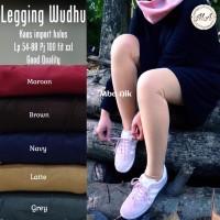 Celana Legging Wudhu Kaos Fit XXL