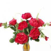 Bunga Mawar Artificial Setangkai Buket Wedding - AF27