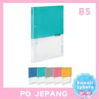Kokuyo 2 Ring Binder Notebook B5 Size | Preorder Jepang