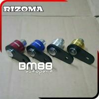 Kunci Tuas Handle Rem NMAX XMAX - RIZOMA CNC Parking Break Lock