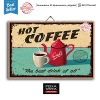 coffee | hiasan | pajangan dinding | poster | kayu | wall decor
