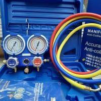 Manifold AC value R410 R32 R22 R134 plus box bok VMG 2 Analize manifol