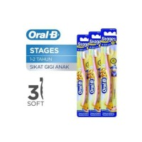 Oral-B Sikat Gigi Stage 1 2 3