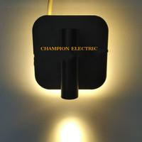 LAMPU DINDING KAMAR LED HIAS 6W 6WATT 6 W + LAMPU BACA 3W 3WATT 3 W