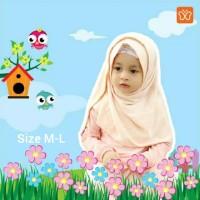 Jilbab Anak Pashmina Instan Pastan Anak Size M - L Hulya Hilzea Gadiza