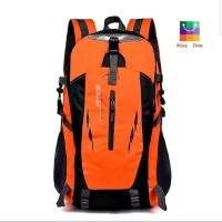 Tas Backpack - Tas Outdoor - Tas Hiking Unisex Anti Air - Orange