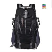 Tas Backpack - Tas Outdoor - Tas Hiking Unisex Anti Air - Hitam