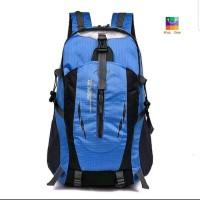 Tas Backpack - Tas Outdoor - Tas Hiking Unisex Anti Air - Biru