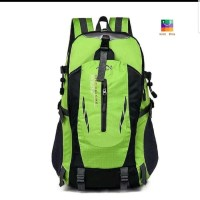 Tas Backpack - Tas Outdoor - Tas Hiking Unisex Anti Air - Hijau