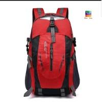 Tas Backpack - Tas Outdoor - Tas Hiking Unisex Anti Air - Merah