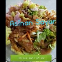 asinan sayur / asinan betawi bumbu kacang