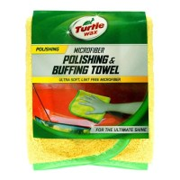 Turtle Wax Microfiber Polishing And Buffing Towel / kain microfiber