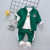 Baju Anak Jaket Set AJ Green