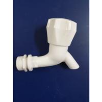 KERAN AIR TEMBOK PVC / KRAN AIR PLASTIK PVC / KRAN AIR MEREK TESON