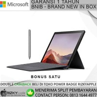 Ready Microsoft Surface Pro 7 I5/8Gb/256Gb Plus Type Cover Original -