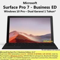 Microsoft Surface Pro 7 Bisnis I5 10Th Gen 128Gb 8Gb Ram