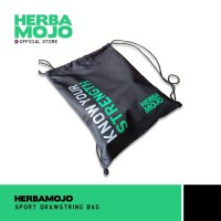Herbamojo Merchandise Drawstring Bag