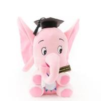 Promo Boneka Wisuda Gajah Bona Pink 22Cm Kado Jogja Termurah