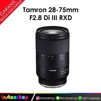 Tamron 28-75mm f/2.8 DI III RXD Lensa Kamera for SONY