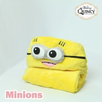 Blanket Baby Topi Vallery Quincy - MINION