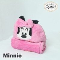 Blanket Baby Topi Vallery Quincy - MINNIE
