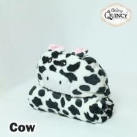 Blanket Baby Topi Vallery Quincy - COW