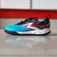 Sepatu Futsal Specs Metasala Warrior Rock Blue Original Promo