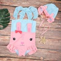 Baju Renang Anak Rabbit Setelan Renang Unik Lucu Swimwear Import