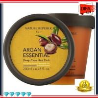 F62 Nature Republic Argan Essential Deep Care Hair Pack 200 ml