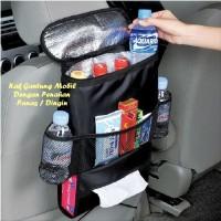 Tempat Penyimpanan di Mobil Car Seat Organizer dengan Aluminium Foi