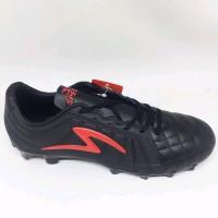Sepatu Bola Specs Barricada Kaze Fg Black Red Original