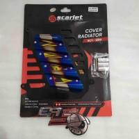 Tutup radiator cover radiator scarlet nmax aerox 155 MTRR