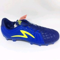 Sepatu Bola Specs Barricada Kaze Fg Navy Tulip Blue Yellow Original