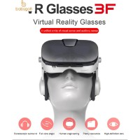 Fiit 3F Headset + Kacamata VR 3D Stereo untuk Smartphone/Google