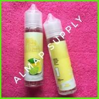 milky lover lemon milk 60ml indo e 0mg - liquid