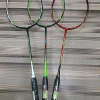 Raket Badminton Lining Razor RZ 5 7 9 Plus Bonus senar tas kaos