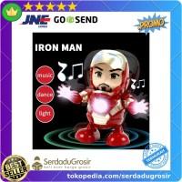 MEET MOOD Mainan Robot Dance Disco Action Figure Avenger Iron Man -