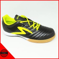Sepatu Futsal Specs Metasala Showtime 19 Black Yellow Original